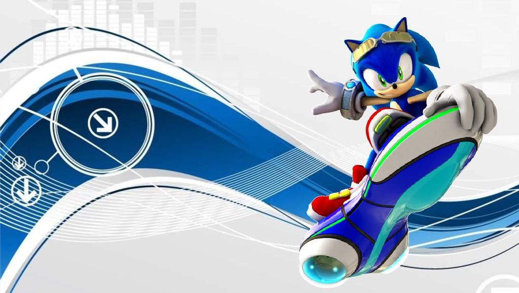 Sonic Riders Zero Gravity Sonic Wallpaper By Nazizombieskiller On Deviantart