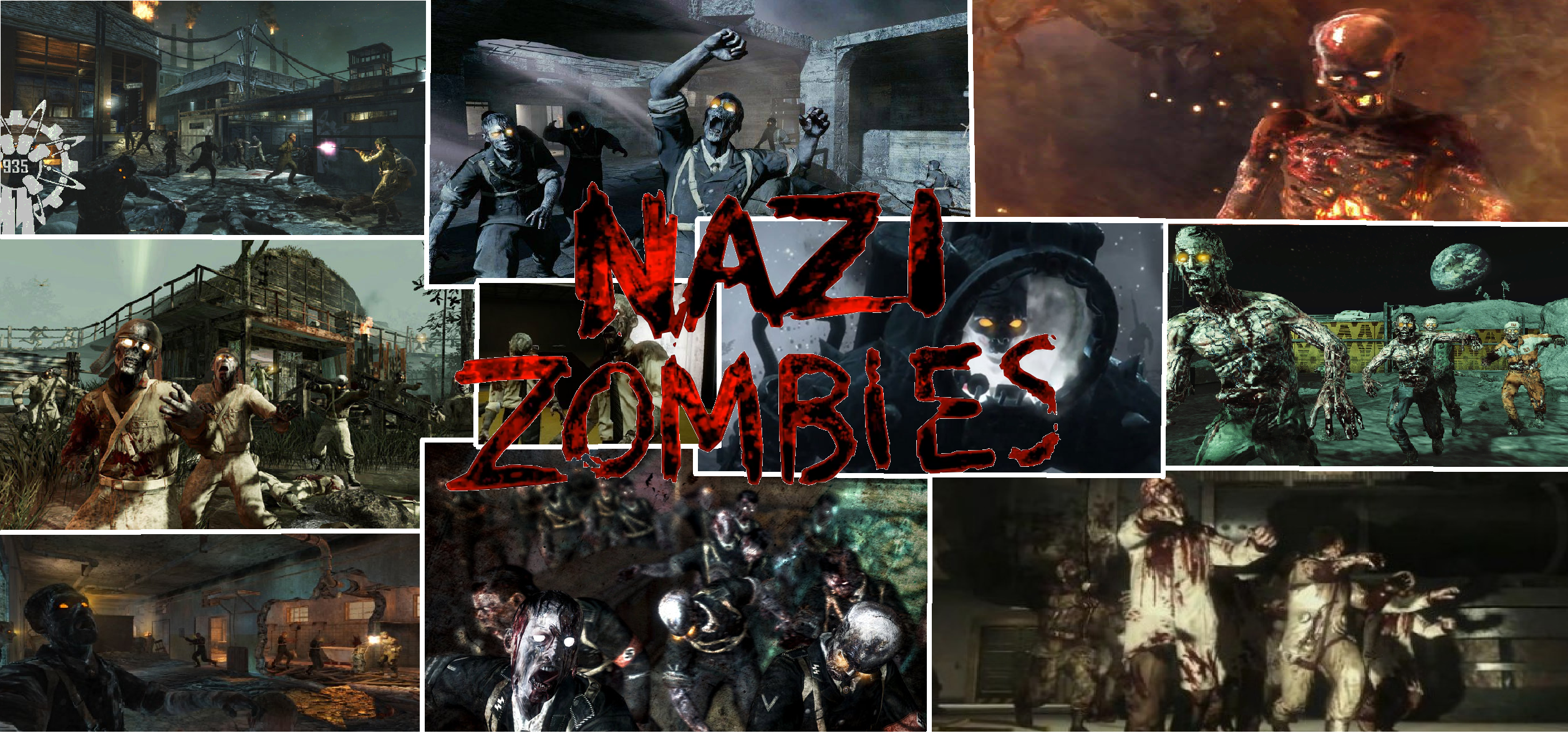 Call Of Duty Zombies Wallpapers: Nazi Zombies Wallpaper By NaziZombiesKiller On DeviantArt