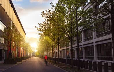 Peaceful City by DominikBingel