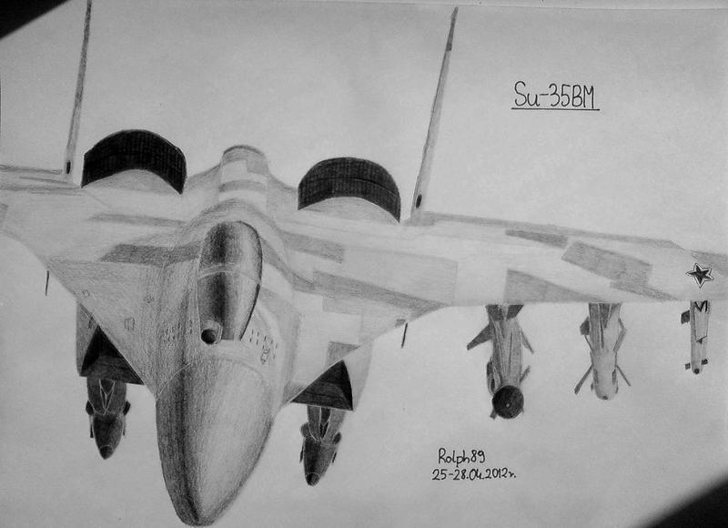 Su-35BM #2 by Ralph1989