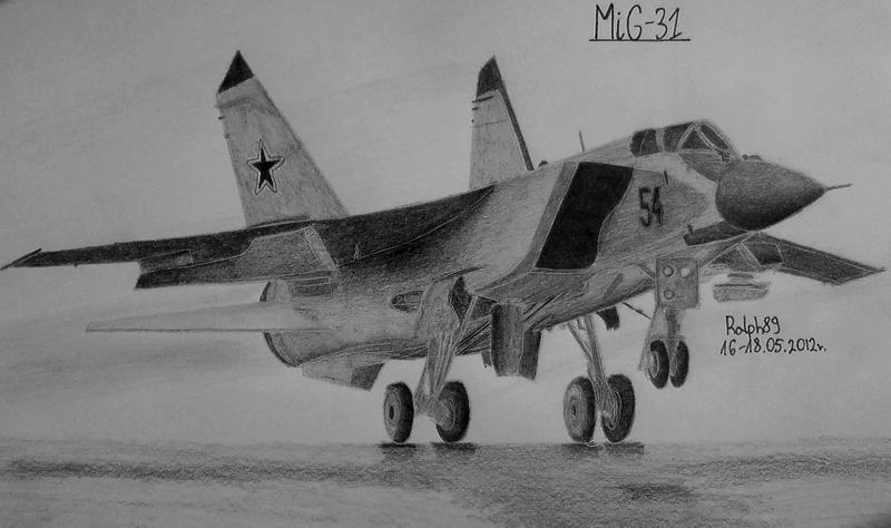 MiG-31 #2 by Ralph1989