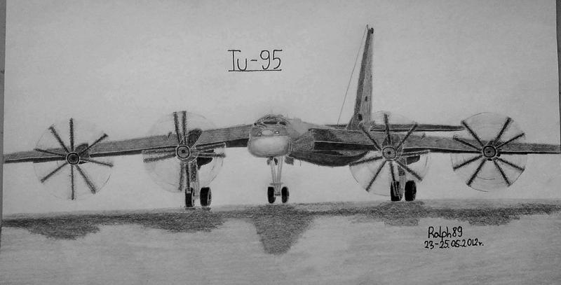 Tu-95 by Ralph1989