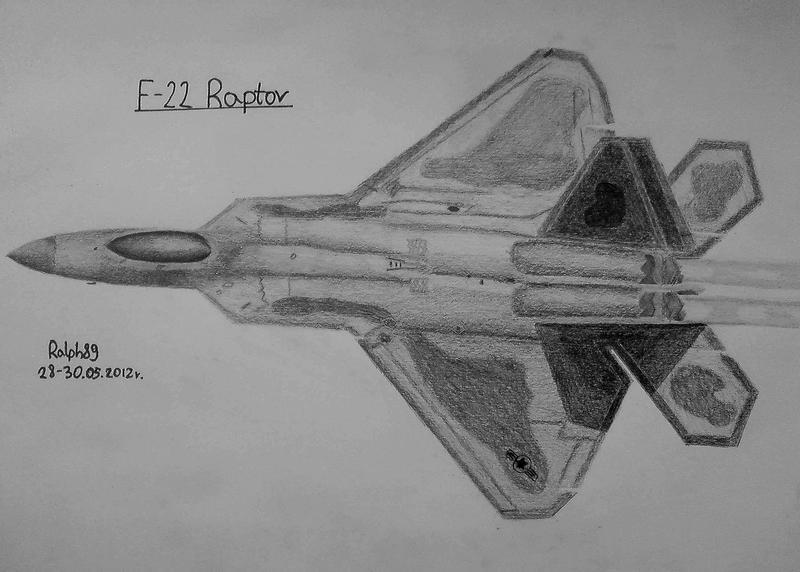 F-22 Raptor by Ralph1989