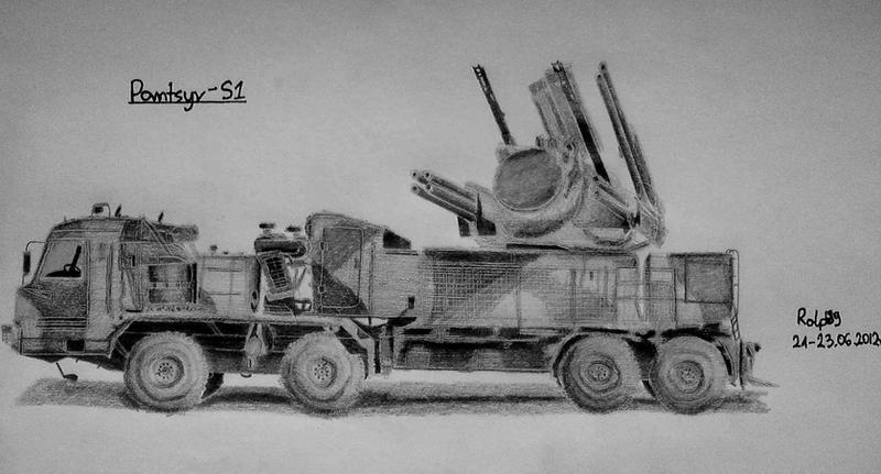 Pantsir-S1 by Ralph1989