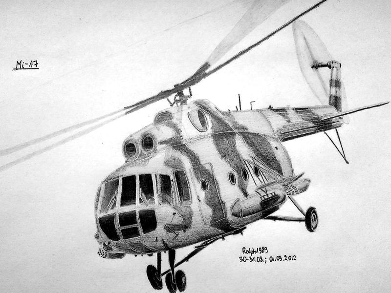 Mi-17M (Mi-8MT) by Ralph1989