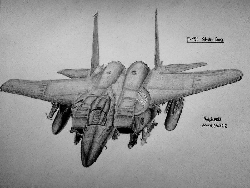 F-15E Strike Eagle by Ralph1989