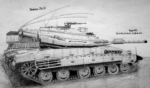 Merkava Mk IV by Ralph1989