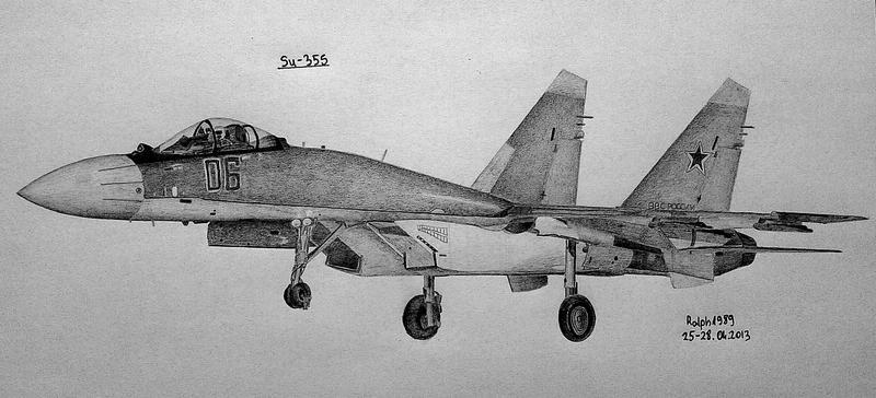 Su-35S (1) by Ralph1989