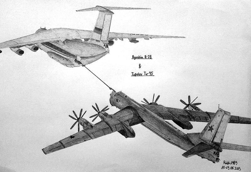 Il-78 and Tu-95 by Ralph1989
