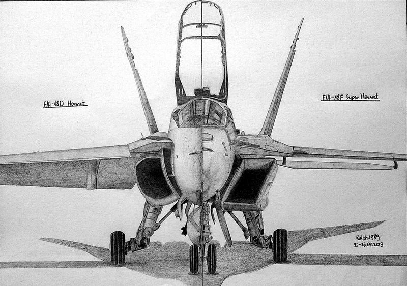 Hornet vs Super Hornet by Ralph1989