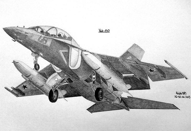 Yak-130 by Ralph1989