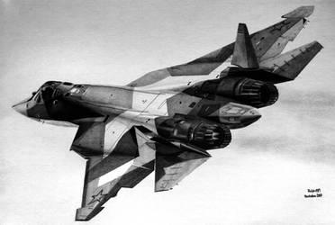 Su-57 by Ralph1989