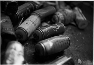 Spray cans by maroe