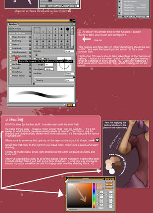 How I color in Photoshop by ichigosweet