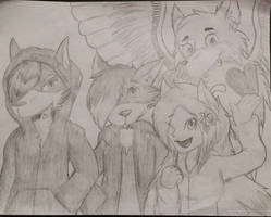 Request: Group of Friends (Sketch)