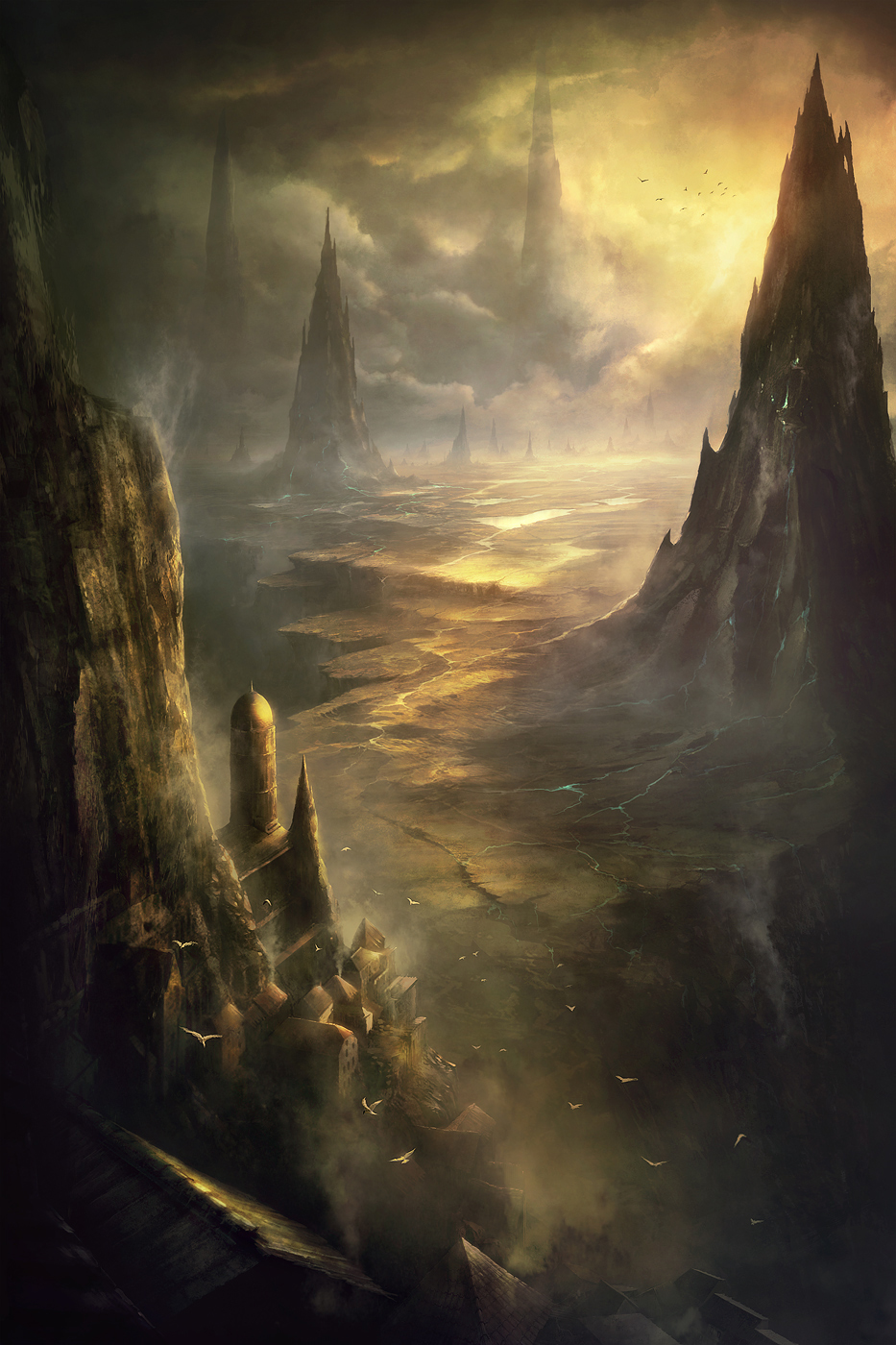 Altlith spire by korbox