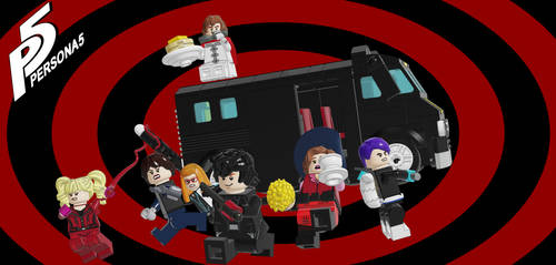 Lego Persona 5 by CaptainReboliousMang