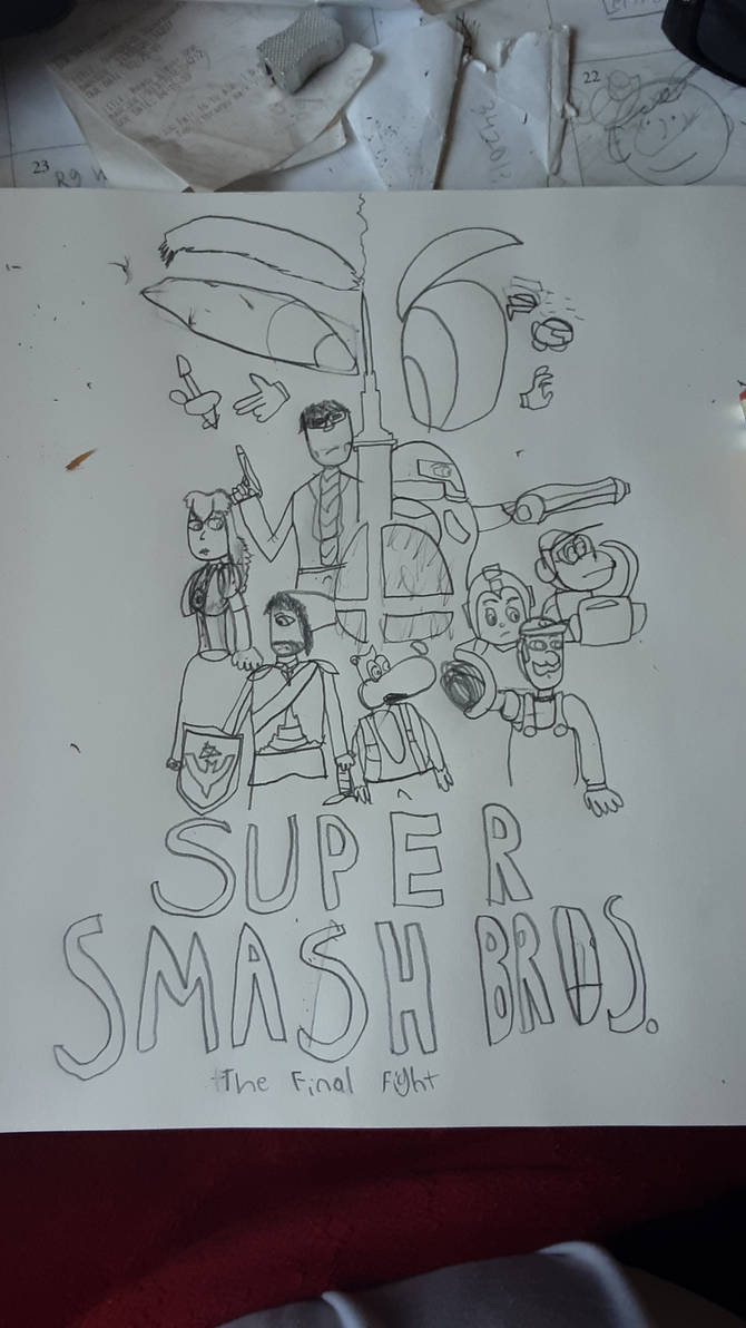 Super Smash Bros. The Final Fight Poster 5