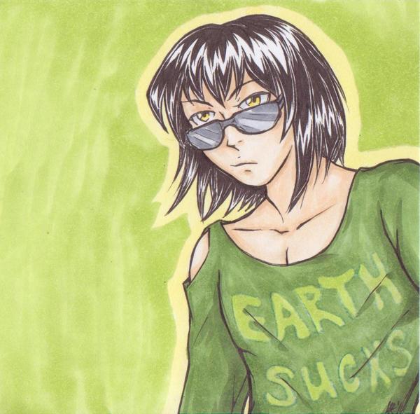 Earth sucks by LRaien