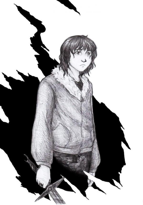 In the dark by LRaien