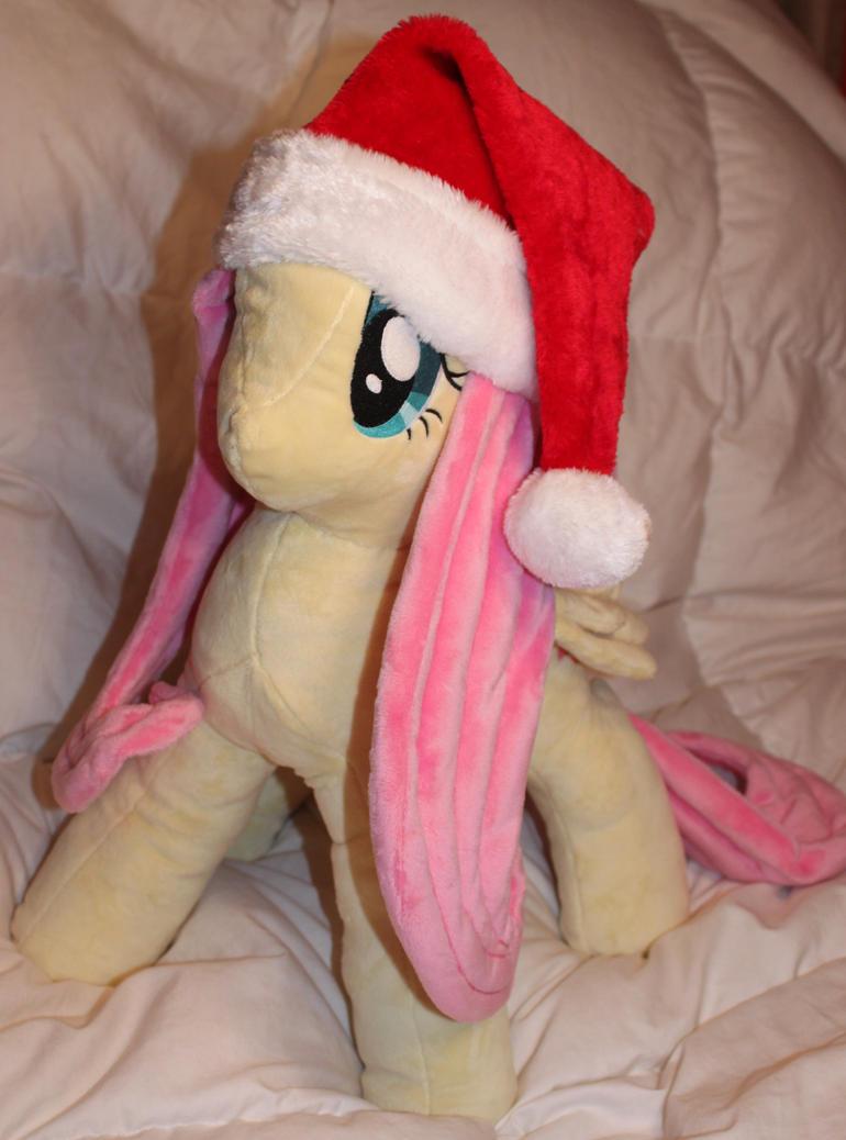 SantaShy Plushie by StarDragon102
