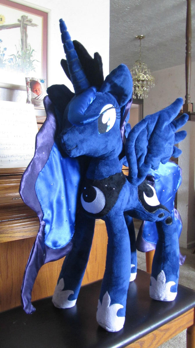 31 inch Season 2 Princess Luna Plushie by StarDragon102