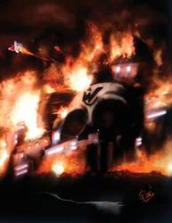 Mega Man Tribute by Ev-Jones