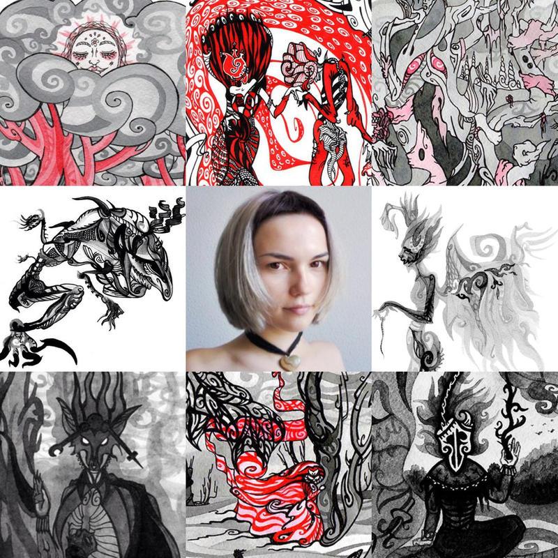 Art vs Artist II by ADAtheQueenOfHEARTS