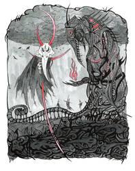 Cemetery God by WeirdSwirl