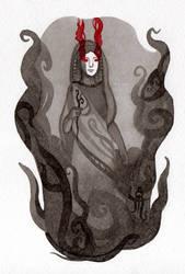 Persephone  by WeirdSwirl