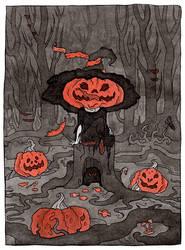 Pumpkin glutton by WeirdSwirl