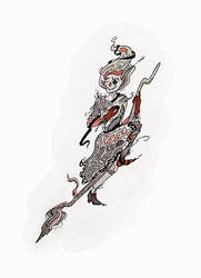 Witch - scarecrow by WeirdSwirl