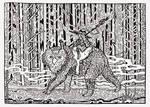 Owlbear and witch