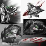 Vampire!Kyle Sketch Dump
