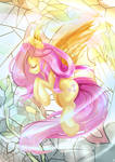 Stain Glass - Fluttershy