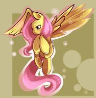 Fluttershyyyy by aaynra