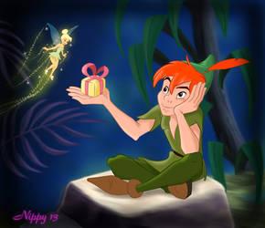 Peter Pan - My Valentine by Nippy13