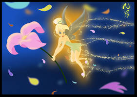 Tinkerbell-A Flower 4 Peter by Nippy13