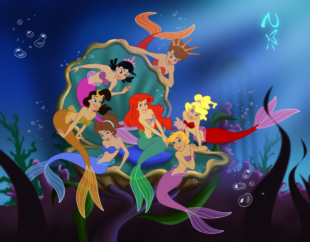 Ariel and her Sisters