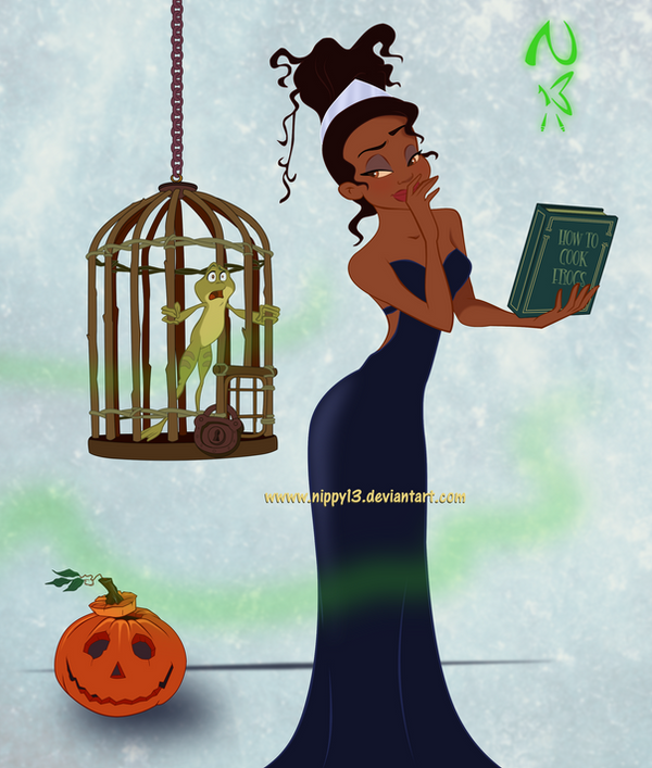 Princess Tiana Cooking: Halloween-How To Cook Frogs By Nippy13 On DeviantArt