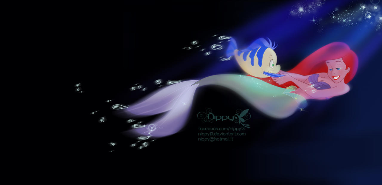 Ariel-Flipping your fins..