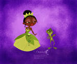 Tiana and her Froggy Prince