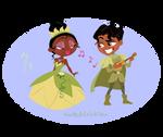 Tiana and her Prince