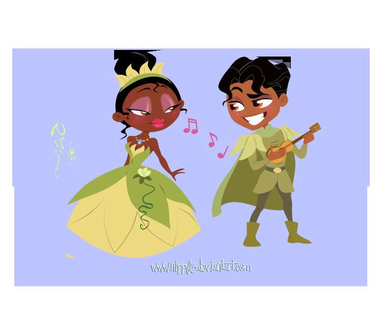 Tiana and her prince by nippy13 on deviantart - Sapos y princesas valencia ...