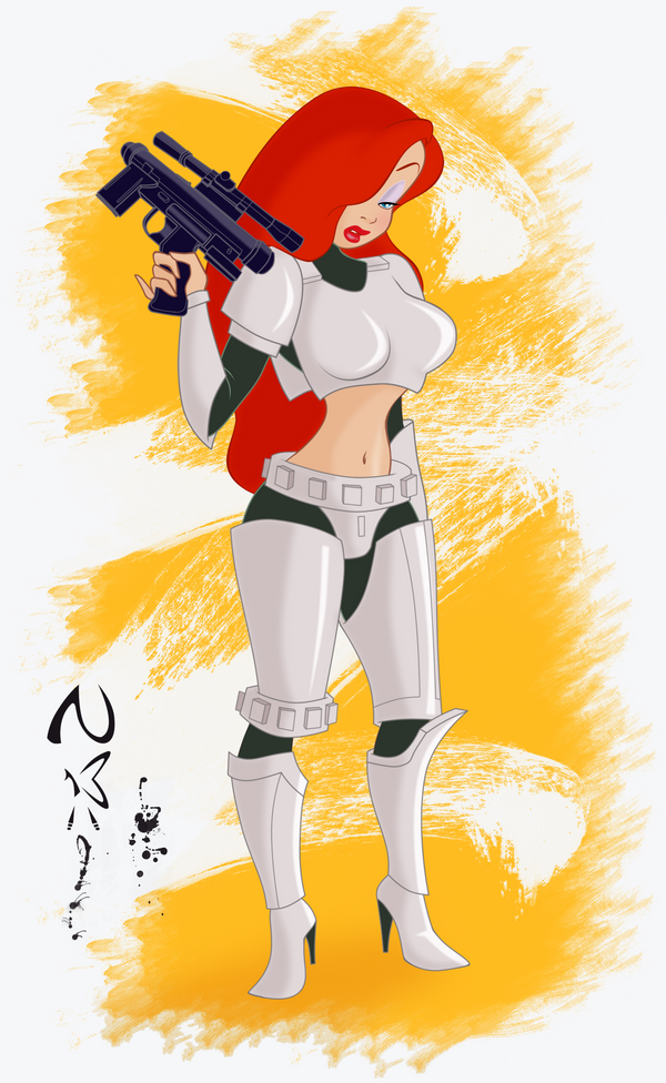 Jessica Stormtrooper by Nippy13
