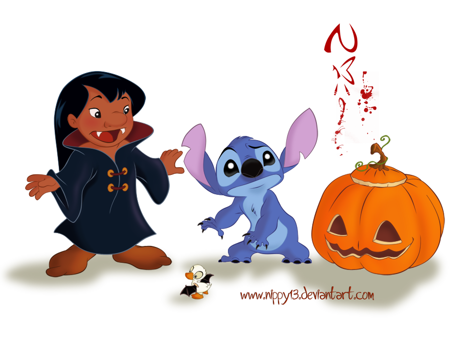 Stitch-My First Halloween by Nippy13 on DeviantArt