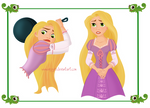 WIP Rapunzel Character Sheet