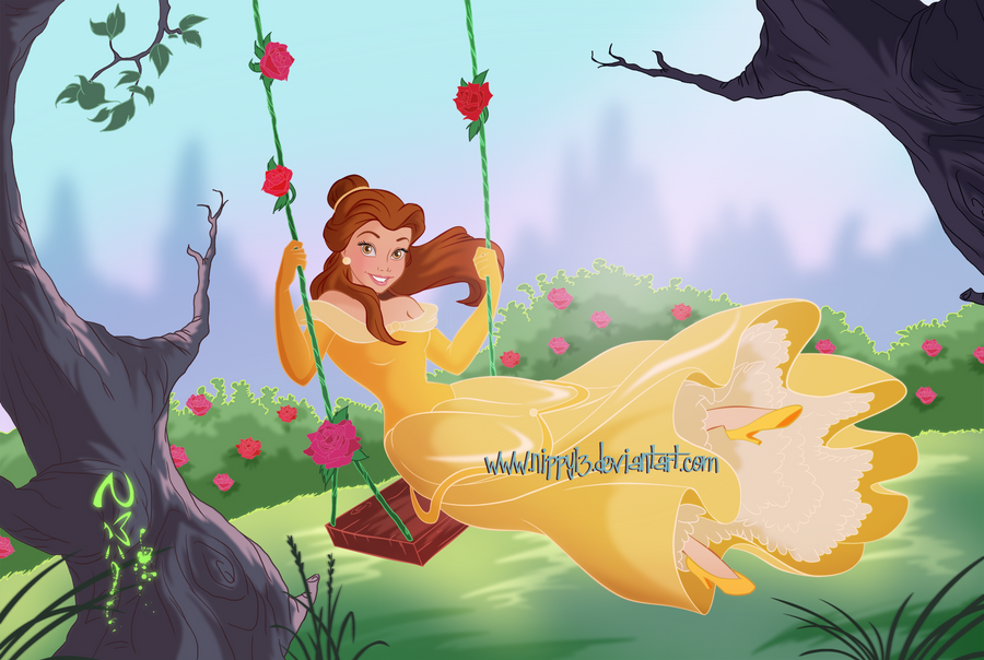 Belle - I love Roses by Nippy13