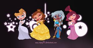 Disney Princesses Chibi Part2