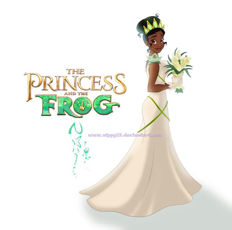 Tiana's Wedding Dress NEW by Nippy13